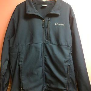 Columbia Blue Full Zip Jacket